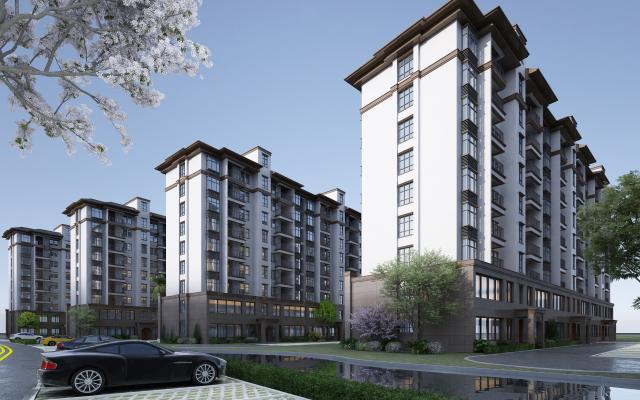 新中式住宅外观