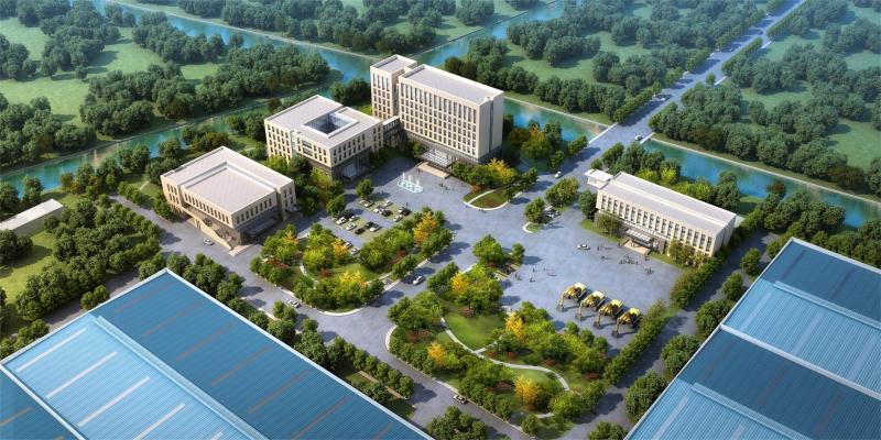 現代厂房 辦公楼 厂区