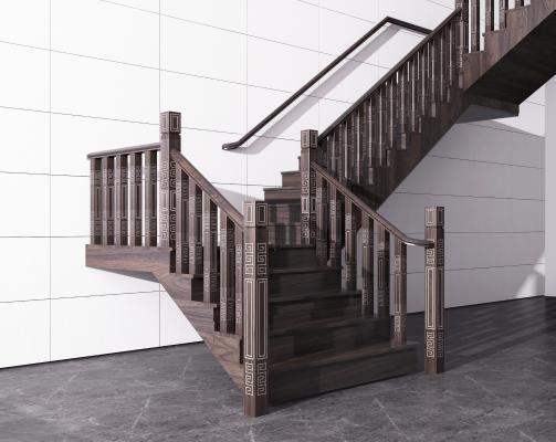 新中式楼梯