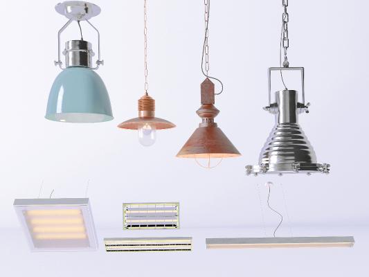 工业吊灯 筒灯 射灯