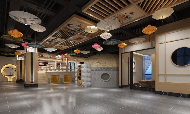 日式洗浴中心 玛瑙房 窑洞