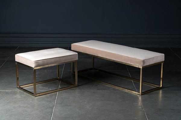 Dantone现代床尾凳 脚凳 脚踏