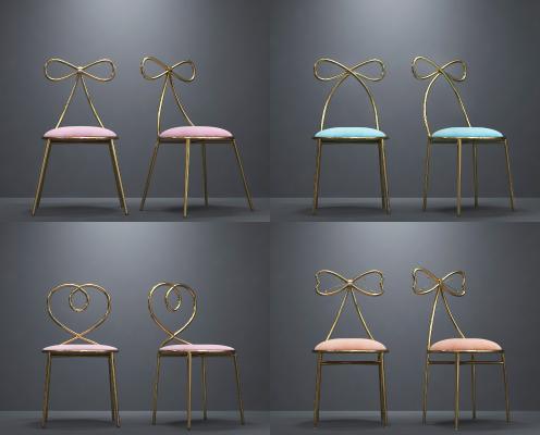 现代北欧轻奢网红单椅