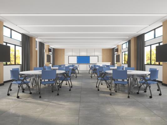 现代科技学校教室