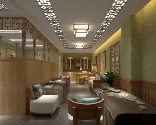 新中式美容院养生堂