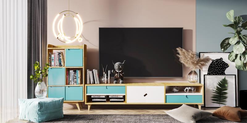 北欧风格电视柜