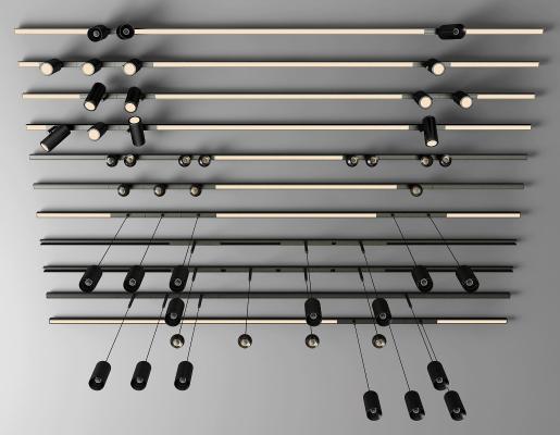現代軌道燈 射燈 筒燈