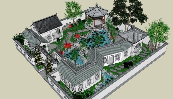 中式园林古建