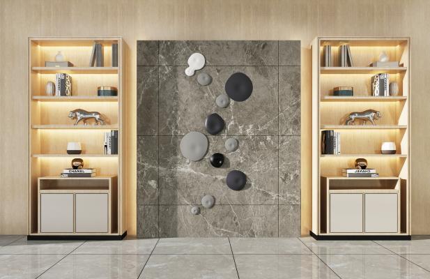现代装饰柜架 装饰柜