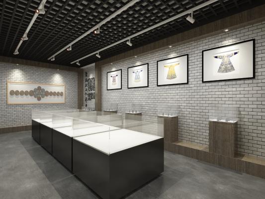 新中式博物馆展厅