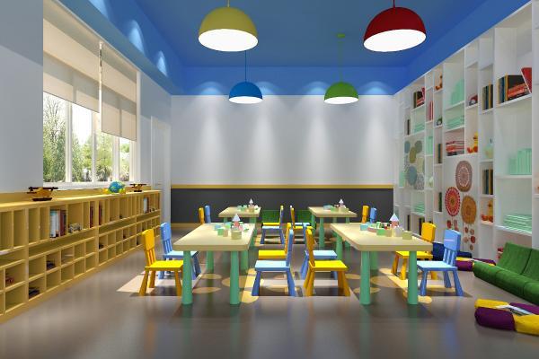 幼儿园阅读室