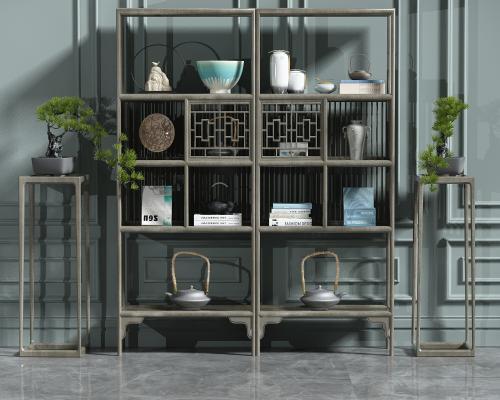 新古典装饰柜组合