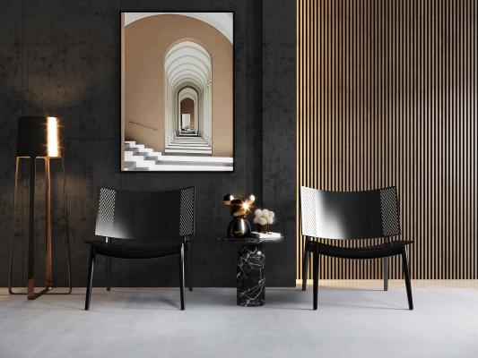 现代单椅 休闲椅
