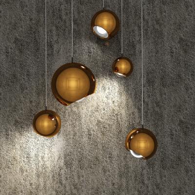 北欧玻璃吊灯 球形吊灯