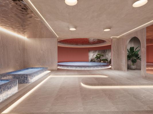 现代洗浴中心