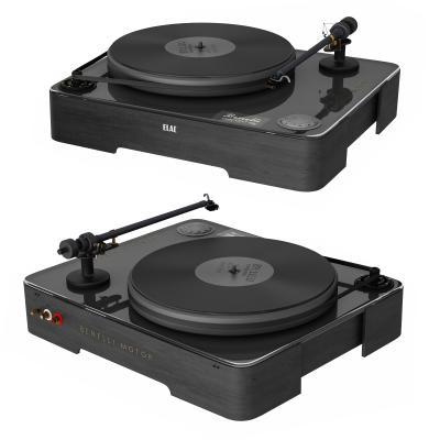 现代简约唱片留声机