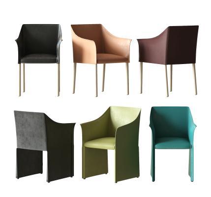 現代休閑單椅