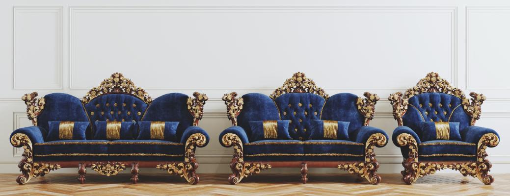 法式沙發組合