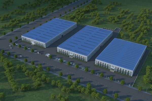 现代高新工业园 工业园区