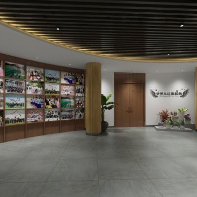 新中式学校历史展厅