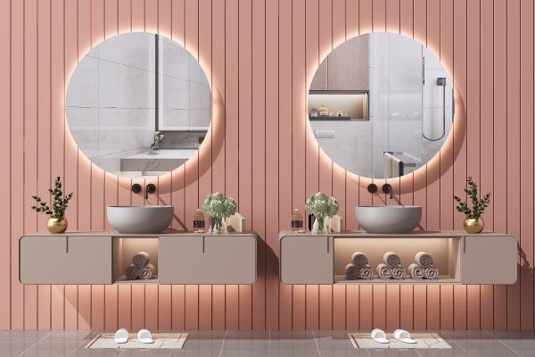 北欧洗手台 浴室柜 洗面盆