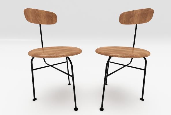 现代风格餐椅
