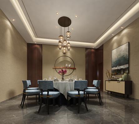 新中式酒店包房能够打破常规