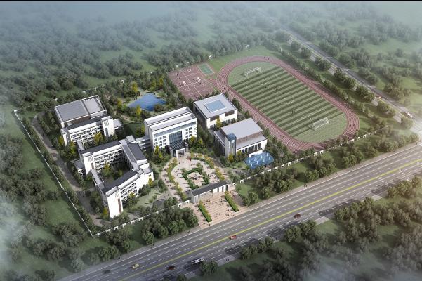 新中式中学