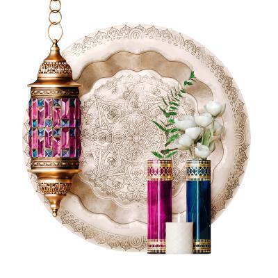 摩洛哥风格装饰套灯 花瓶 盘子 蜡烛 灯笼