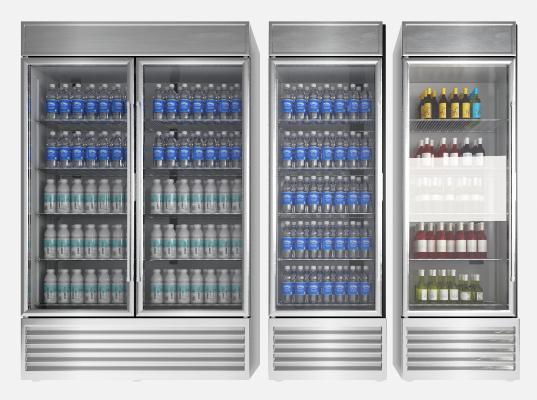 现代冰柜 冰箱 保鲜柜