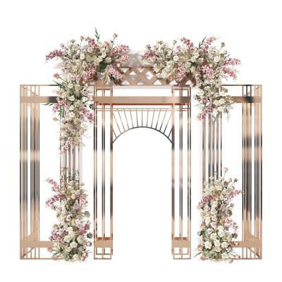 现代花架组合 美陈 拱门