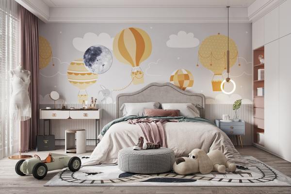 现代儿童房 女孩房 儿童卧室