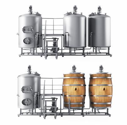 现代啤酒酿造机