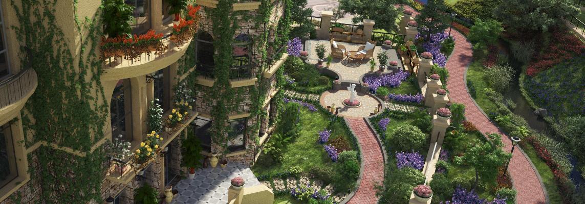 现代庭院景观