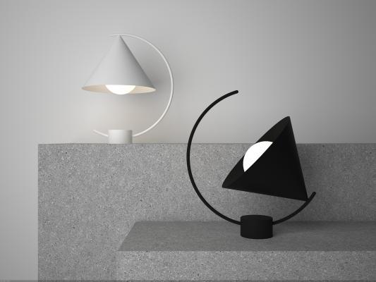 现代简约创意台灯