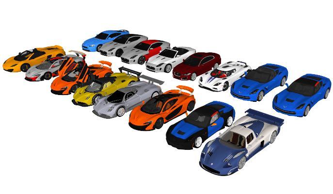 现代汽车豪车跑车合集