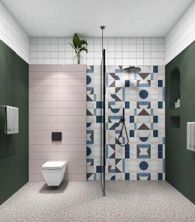 北欧卫生间 淋浴室