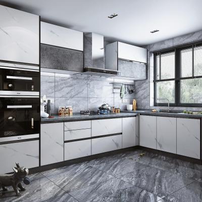 现代风格厨房 橱柜 蒸箱 烤箱