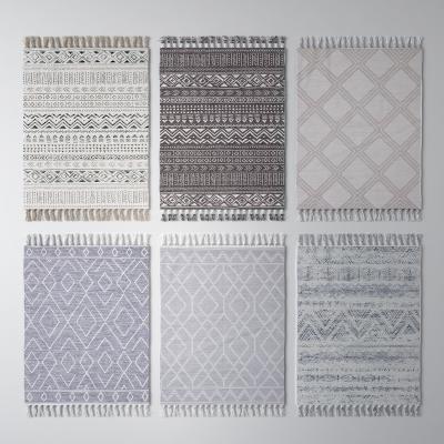 现代方形地毯
