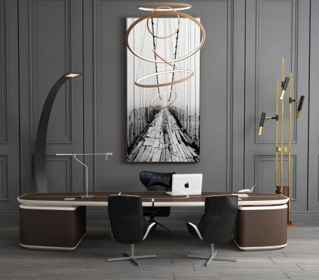 现代办公桌班台