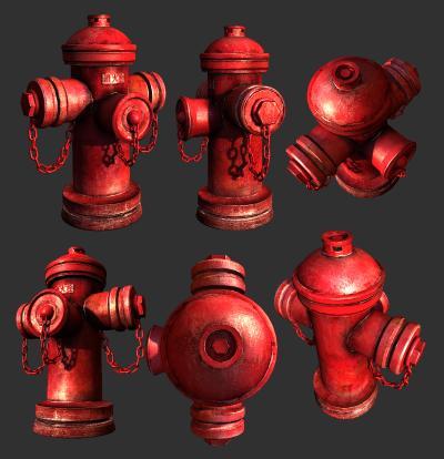 现代消防栓