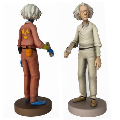 现代爱因斯坦手办 布朗博士 玩具