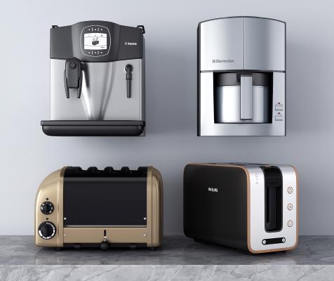 现代厨房电器 咖啡机 饮水机
