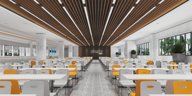 现代员工餐厅食堂
