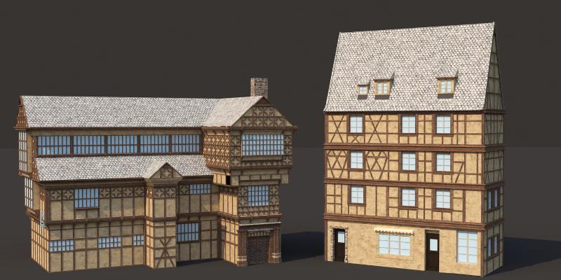 法式別墅 住宅 城堡