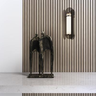 新中式雕塑 吊灯组合