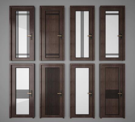 现代厨卫门房门