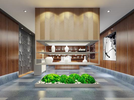 新中式展厅