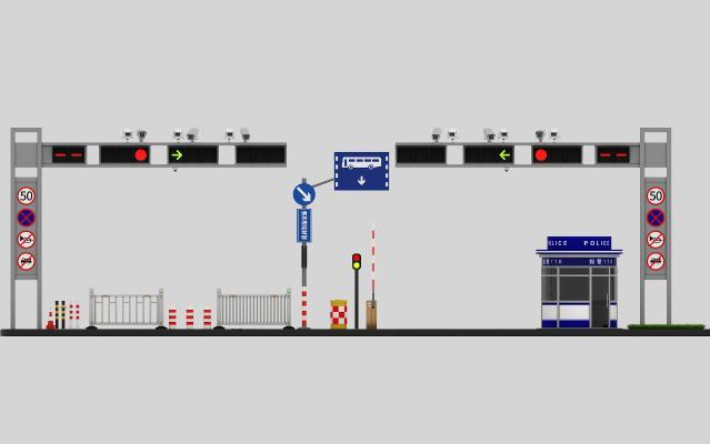 現代交通設施