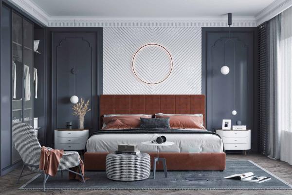 现代简约风格主卧室
